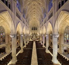 Best NYC Architectural Landmarks St. Patrick's Cathedral, 50, 51st, between Madison and Fifth