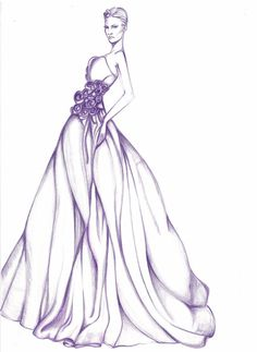 Design Dress Drawing Fashion Design Dresses