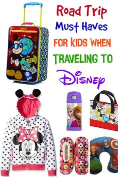 Road Trips can be long and boring, especially for kids. Here are some great Road Trip Must Haves For Kids When Traveling to Disney.