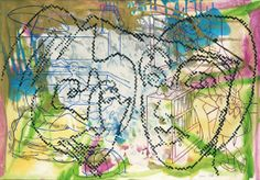 Sigmar Polke, Music from an Unknown Source