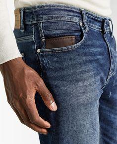 Raw Denim, Denim Jeans Men, Types Of Jeans, Diesel Jeans, Trousers, Pants, Jeans Style, Dsquared2, Pocket