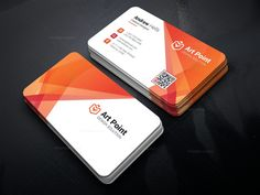Alastor Professional Corporate Business Card Template 001318