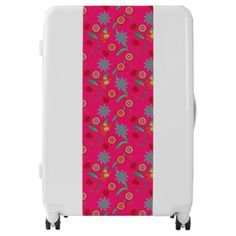 Travel easy with Vintage luggage from Zazzle. With a marketplace full of great designs you'll find a one-of-a-kind suitcase. Pink Luggage, Custom Luggage, Vintage Luggage, Vintage Floral, Shopping, Design