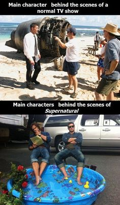 Main characters behind the scenes…