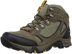 36bef0d9 Hi-Tec Falcon Waterproof, Men's Hiking Boots, Dark Chocolate/Dark  Taupe/Burnt Orange, 12 UK