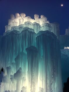 Mall of America Ice Castles, Bloomington, Minnesota