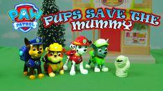 PAW PATROL ADVENTURES: Pups Save The lIttle Mummy