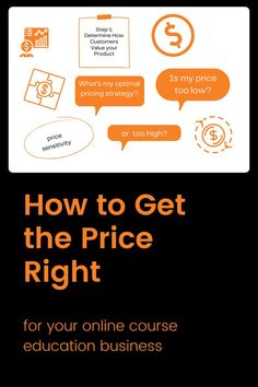 You're selling your online course or course subscription services. You think you have your pricing right, but is it? Finding the right price can have a tremendous impact on your financials. Even minor price improvements can increase your profit margin. #onlinecoursetips #onlineeducation #onlinecoursepricing #onlineeducationbusiness #pricingtips