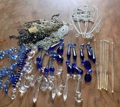 Marie's cobalt garden crafts Sun catcher supplies