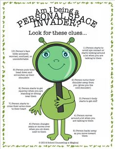 How to tell if you're being a personal space invader                                                                                                                                                                                 More