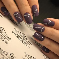 Nail art Christmas - the festive spirit on the nails. Over 70 creative ideas and tutorials - My Nails Classy Nails, Stylish Nails, Trendy Nails, Cute Nails, Fingernail Designs, Gel Nail Designs, Cute Nail Designs, Nails Design, Design Design