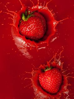 Strawberry Red by Ryan Matthew Smith Rainbow Aesthetic, Aesthetic Colors, Aesthetic Pictures, Images Esthétiques, Red Photography, Red Pictures, Red Wallpaper, Simply Red, Red Walls