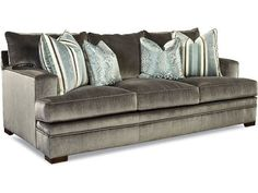 Shop the Godfrey Sofa by Huntington House at Furnitureland South, the World's Largest Furniture Store and North Carolina's Premiere Furniture Showroom. Living Room Sofa, Large Furniture, Cushions On Sofa, Furniture Shop, Couches For Sale, Huntington Homes, North Carolina Furniture, Burke Furniture, French Living Rooms