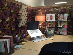 How to Make Your Cubical Match Your Style - Many of us spend an inordinate amount of time shopping, painting, DIYing and generally making our homes beautiful, but we often overlook the space where we spend most of our days—the office. There's no reason why your workspace shouldn't reflect your taste and sense of style, too!