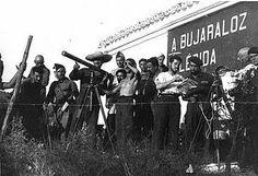 'Milicianos de la columna Durruti', ocupación de Belchite, 1937