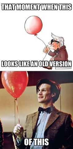 hahahahahahaha *thinks for a minute about the similarities between Up and Eleven*....... OH NOW I'M SAD