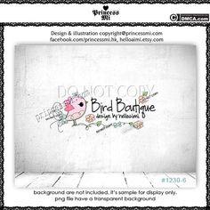 Custom Premade logo design CUTE BIRD Logo Design Sketch bird logo birdie logo boutique logo photography logo by princessmi 1230-6