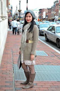 DC Street Style captured in Georgetown
