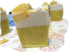 Ο ΝΕΡΑΙΔΟΚΗΠΟΣ της Eλενης-Aντζελινας!/Χειροποιητα σαπουνια-καλλυντικα/ΕLENI'S FAIRY GARDEN: Lemon yoghurt Puddingg Soap by Eleni