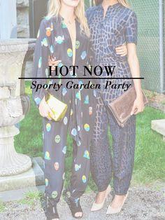 hot now: sporty garden party | Stella McCartney Resort 2015 | Anthropologie