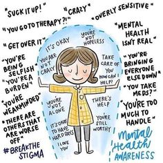 Mental health awareness we are here to help! here are the bad mental health habits that hurt 60 of women Mental Health Stigma, Mental And Emotional Health, Mental Health Matters, Mental Health Quotes, Mental Illness Stigma, Teen Mental Health, Mental Health Conditions, What Is Mental Health, Importance Of Mental Health
