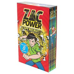 Zac Powers Spy Recruit 8 Book Slipcase – Target Australia