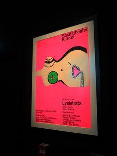 Staatstheater Kassel, Aristophanes Kassel, Affiche du Staatstheater Kassel, 1966
