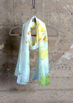 Cashmere Silk Scarf - Strung Up by VIDA VIDA G99g6