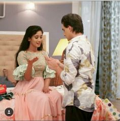 😍Masti time with kaira😍 Fancy Blouse Designs, Saree Blouse Designs, Shivangi Joshi Instagram, Kartik And Naira, Kaira Yrkkh, Kurta Neck Design, Mohsin Khan, Cutest Couple Ever, Indian Designer Outfits