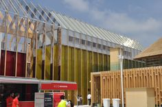 Spanish Pavilion in Expo Milan 2015 - Construction management #architecture #Expomilan2015
