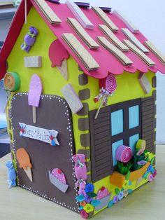 Casa de Doces em EVA, by Val