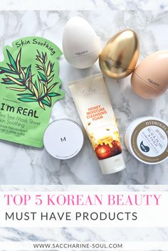 Looking for new products for your beauty stash? Then check out these top 5 Korean beauty must have products that will change your skincare!