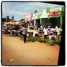 Rural areas outside of Kisumu