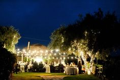Inspired by This Green and White Organic Outdoor Saddlerock Ranch Wedding | Inspired by This Blog