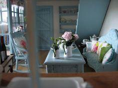 Mine dukkehuse: Stuen i dag