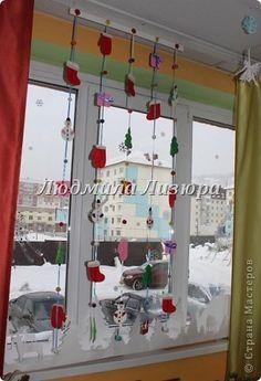 Поделка, изделие Вырезание: Зимний вариант  Шерсть Новый год. Фото 2