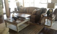 A cottage look w/Barclay Collection by Bassett.