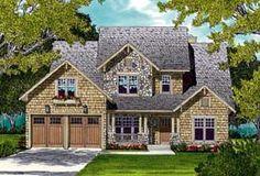 Elevation of Cottage   Craftsman   House Plan 96985