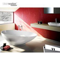 Clearwater Small Teardrop Freestanding Bath (1690mm)