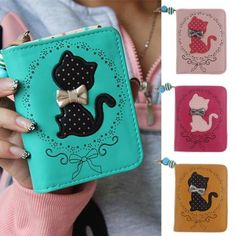 Cute Small Kitty Wallet