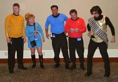Trekkies Group Costume Idea #Halloween #Costumes #Group