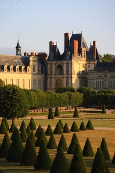 France, Seine et Marne (77), Fontainebleau, the royal castle listed as World Heritage by UNESCO,