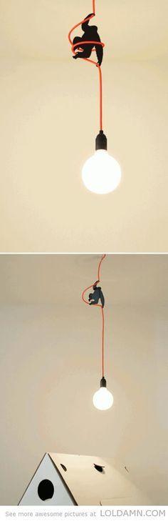 Cool designs: King Kong Lamp