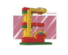 - LEGO Models (9654) | 2002 elevator