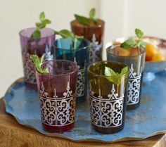 Sweet mint tea arab style i make this all the time