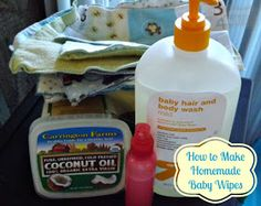 Outnumbered 3 to 1: DIY & Frugal Homemade Cloth Baby Wipes Solution