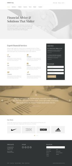 Minimalist business theme coming soon to uSkinned. Fully responsive frontend theme integrated into the uSkinned's starter kit for Umbraco. Business Website, Starter Kit, Ui Design, Minimalist, User Interface Design, Minimalism