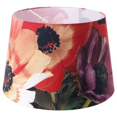 HÖRJA Shade - assorted designs/flowers red - IKEA