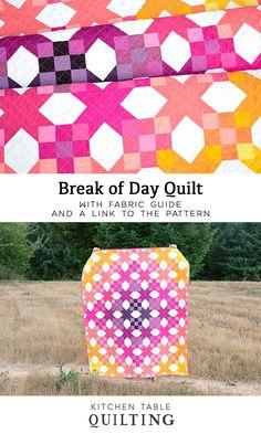 Break of Day Quilt -