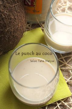 Un excellent punch coco en 10 minutes chrono - Expolore the best and the special ideas about Cocktails Cocktail Pictures, Caribbean Recipes, Cooking Time, Smoothies, Food And Drink, Coconut, Alcoholic Drinks, Liqueurs, Appetizers